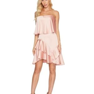 NWT Halston Heritage blush dress